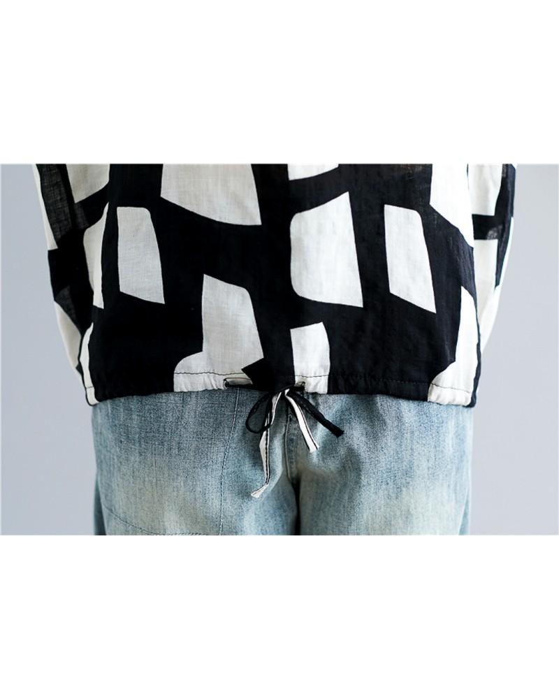 Bluza Black and White