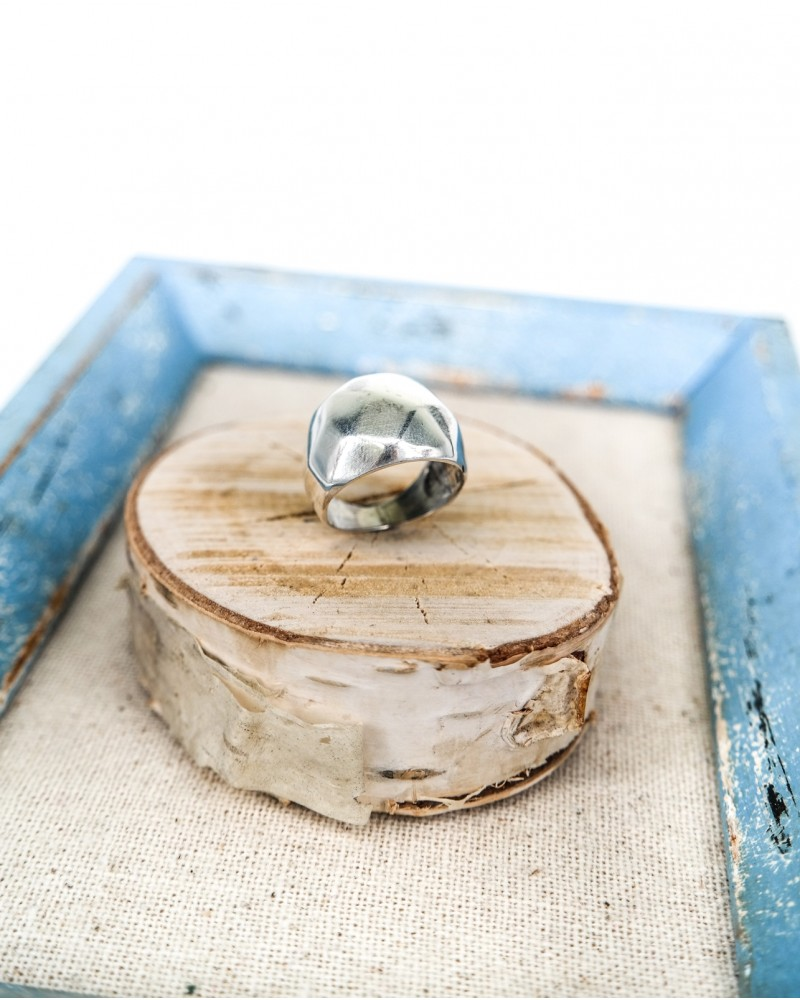 Inel Argint Hummer  Bite