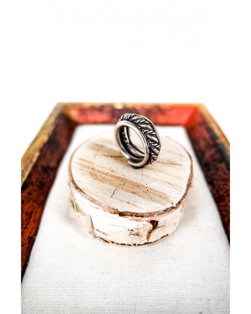 Inel Argint Spirala Vintage