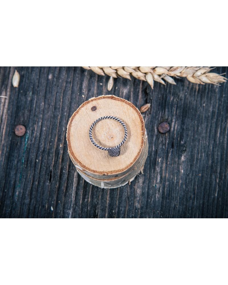 Inel Argint Bali Rope