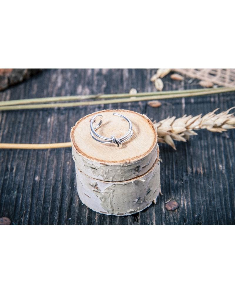 Inel Argint Knot