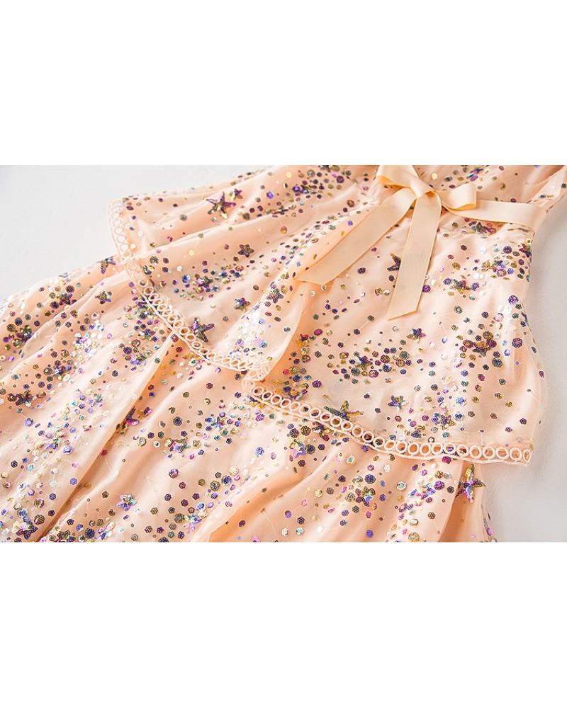 Rochie Pink Stars