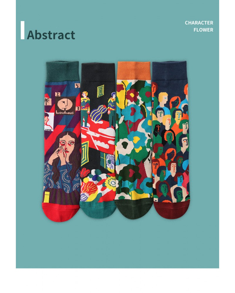 Sosete Abstract Time 4 Pack