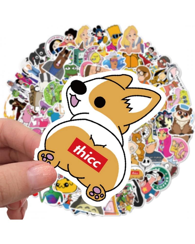 Stickere Cartoons Life 101 Set