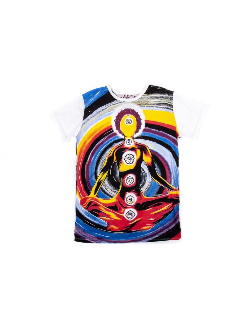 Tricou Colored Chakras