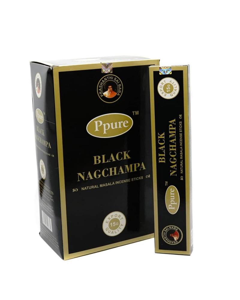 Betisoare Parfumate Black Nagchampa  Natural Masala