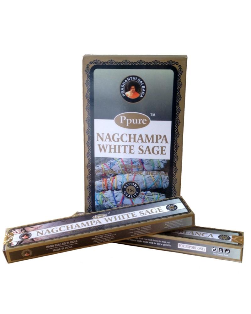 Betisoare Parfumate NagChampa White Sage