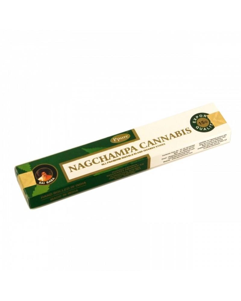 Betisoare Parfumate NagChampa Cannabis